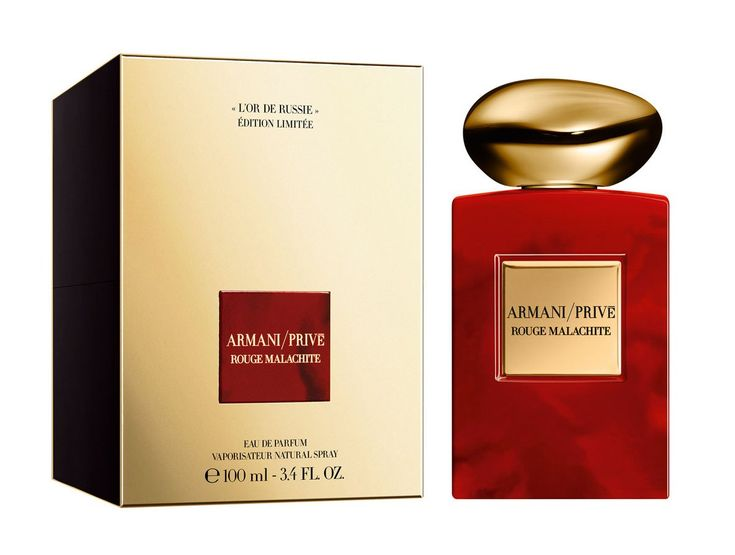 NEW Fragrance - Armani Prive - Rouge Malachite Limited Edition L`Or de – The Luxury Perfumes At Your Door