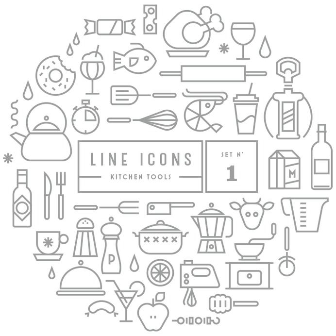 Signage / Line Icons | GRAVUAL | Grafisch bureau | Grafische vormgeving | Antwerpen