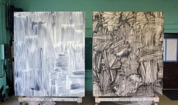 Greg FadellDiy Art, Awesome Artworks, Apartments Therapy, Inspiration Pattern Texture, Studios Visit, Phenomenology Art, Inspiration Diy, Art Silent, Inspiration Patternstextur