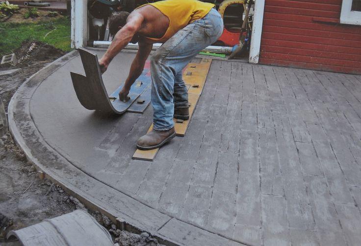 Weatherwood Plank Concrete Stamp Set 11 Pc In 2019