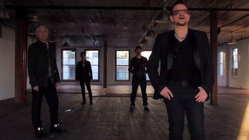 U2, Still from their Ordinary Love video, 2013