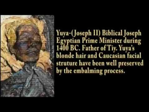 Blonde and Red Haired Mummies of Egypt - Yuya, Seti, Akhnaten, Hatshepsut...have caucasian features...Were they Ptolemean? Jewish?