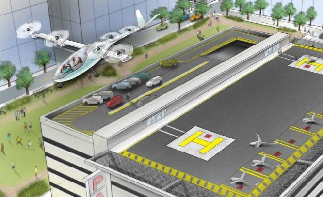 Uber Planning to Roll Out Flying Car Transport Service