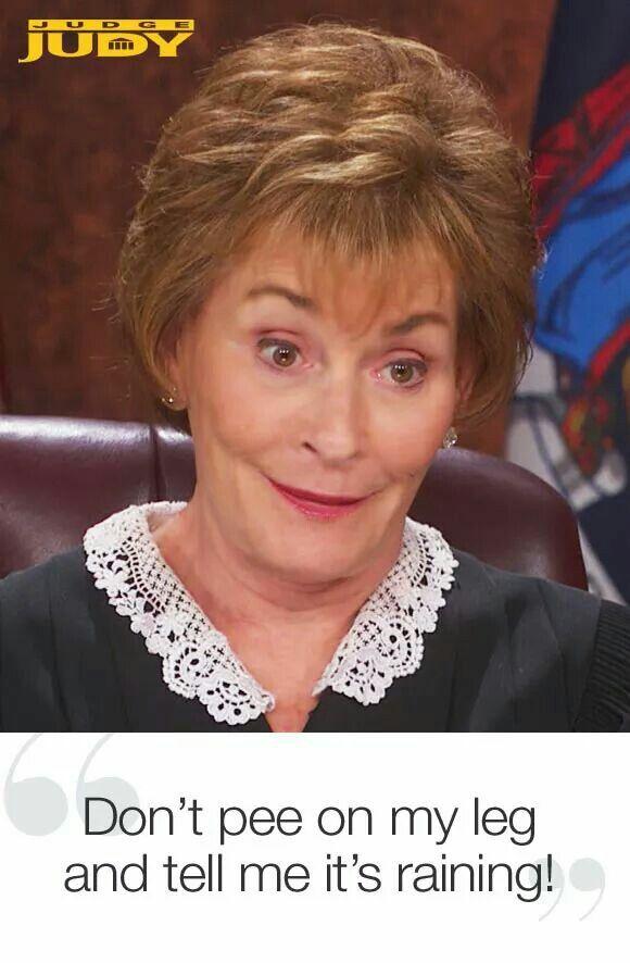 """The Hypocrisy of """"Judge Judy"""""""