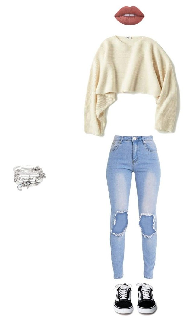 """10/31/2017"" by bvbyaria on Polyvore featuring Uniqlo, Alex and Ani and Lime Crime"