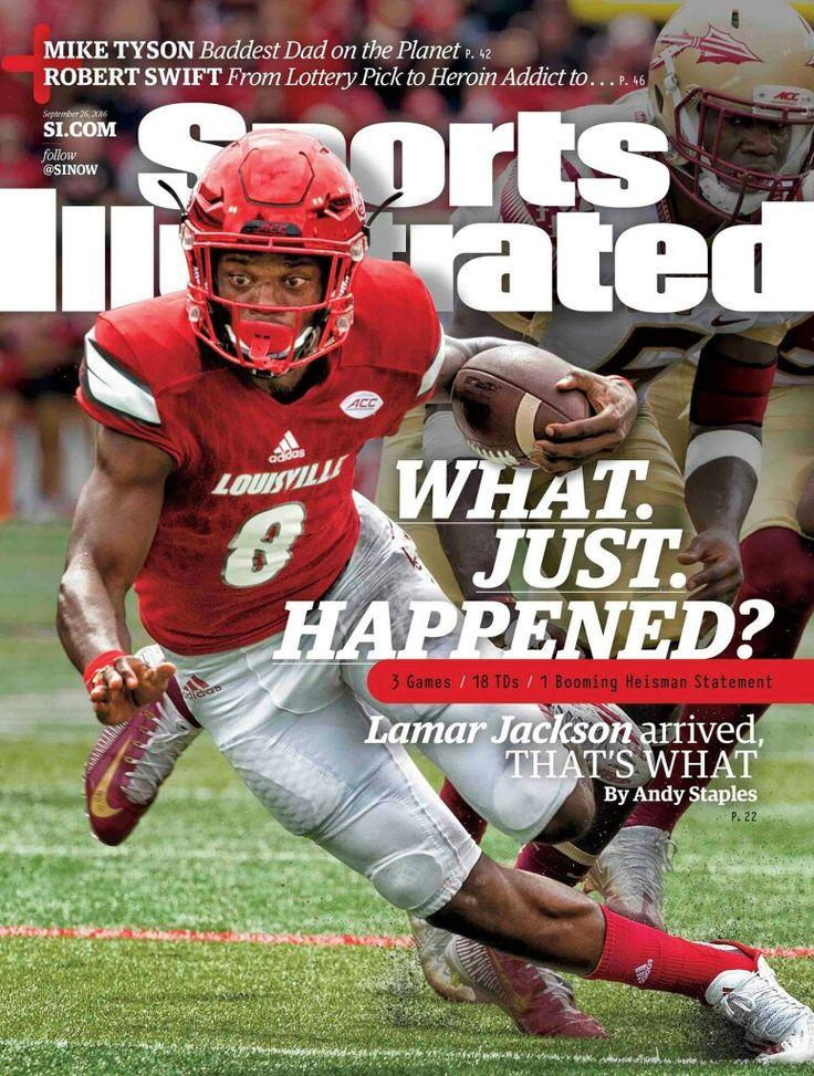 1st Louisville Football Player on Sports Illustrated Lamar Jackson!