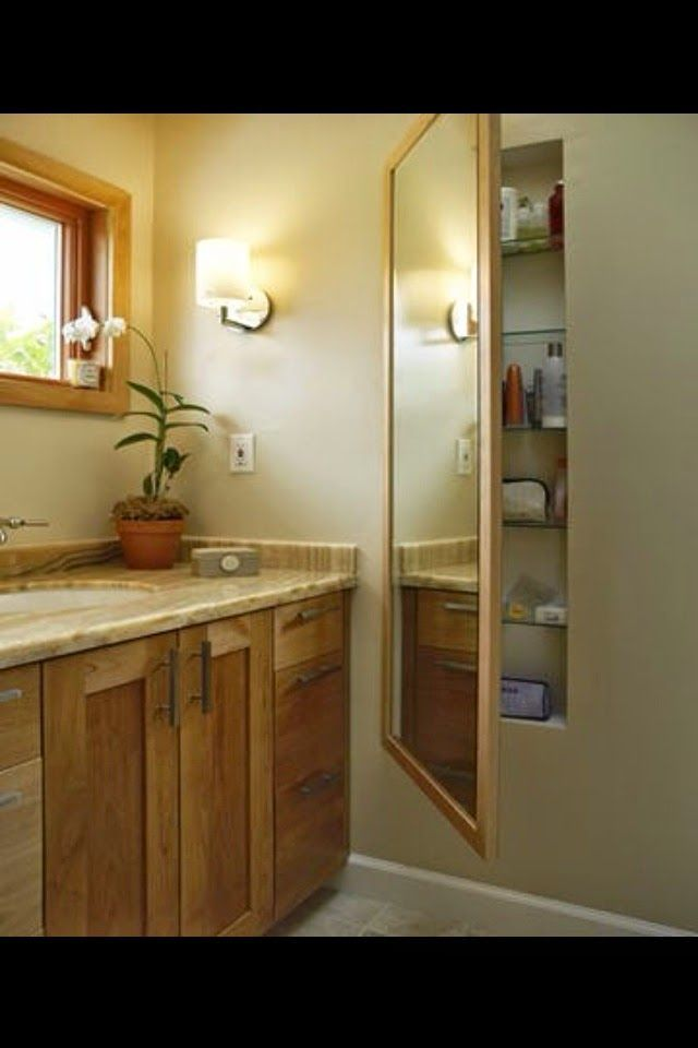 1000 ideas about bathroom mirror with shelf on pinterest - Bathroom mirror with hidden storage ...