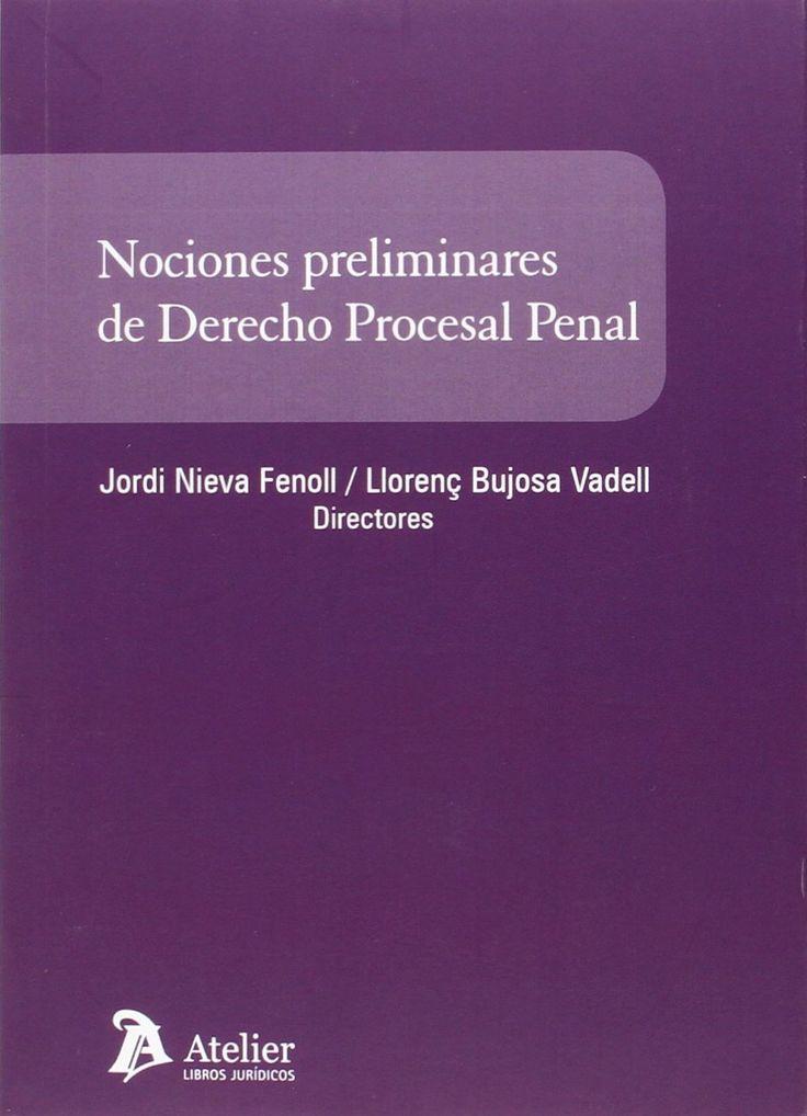 Nociones preliminares de derecho procesal penal / Jordi Nieva Fenoll, Llorenç Bujosa Vadell, directores