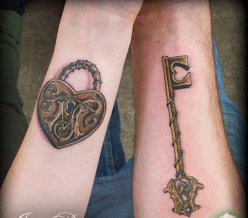 Tiny rose  lock  and key by Half Bicycle Tattoo Tattooing has moved beyond  the sheer tribal mark  or a gang stamp  Today  it s a recognized form of  art. 67 best ideas about Tattoos that I love on Pinterest   African