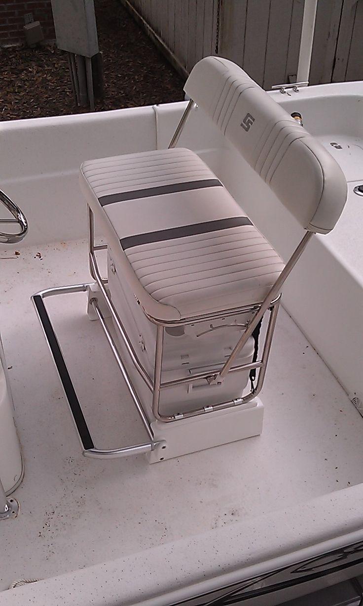 Carolina Skiff Cooler Seat Kit For Stainless Swingback