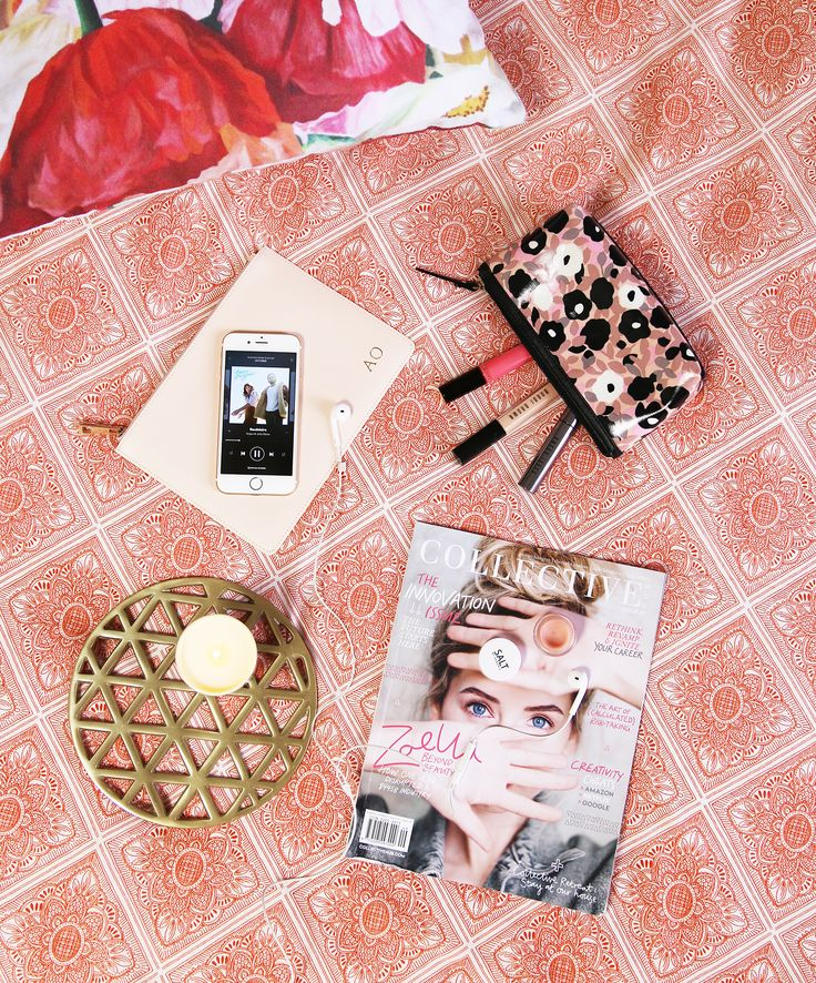 MUSIC I'M LOVING RIGHT NOW #playlist #spotify #flatlay #beauty