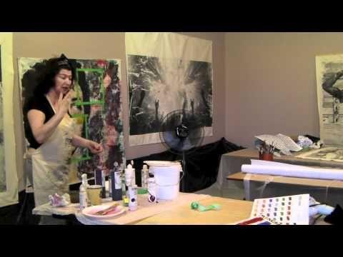 Bigger is Better Workshop with Melanie Matthews - YouTube