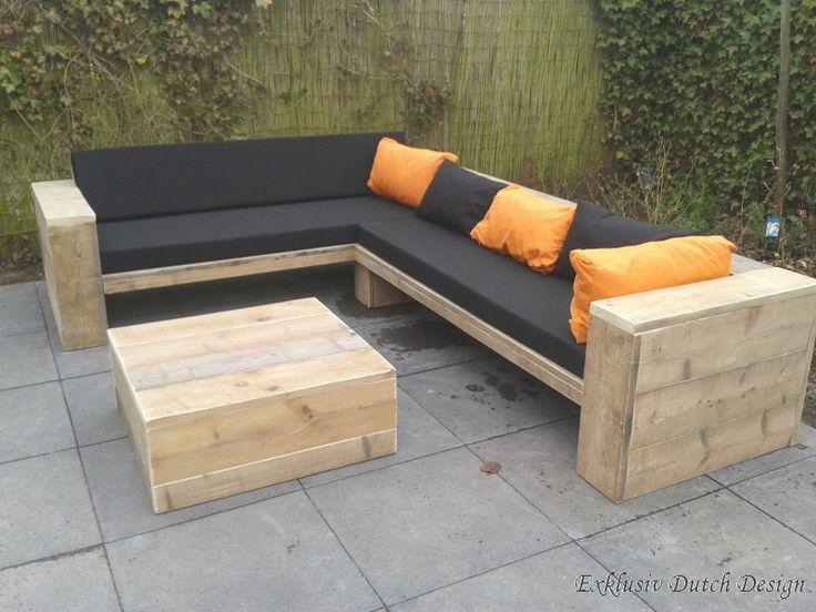 Gartenlounge selber bauen bauanleitung  Die besten 25+ Gartenmöbel selber bauen Ideen auf Pinterest ...