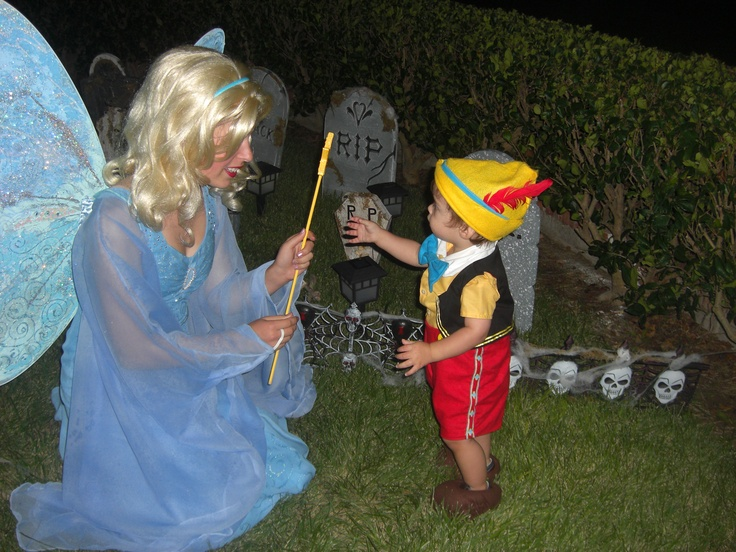 Blue Fairy and Pinocchio | Halloween Costumes by Talina ...