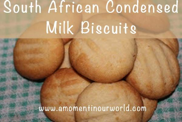 These South African Condensed Milk Biscuits are easy to make and yummy to eat.