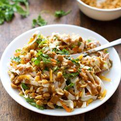 Chopped Thai Chicken Salad - so much flavor in one big ol' happy salad!
