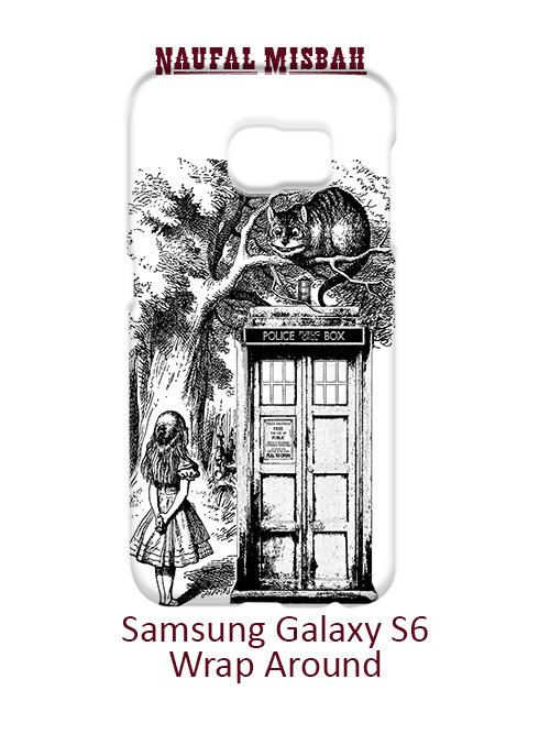 Alice in Tardis Dr Who Samsung Galaxy S6 Case Cover