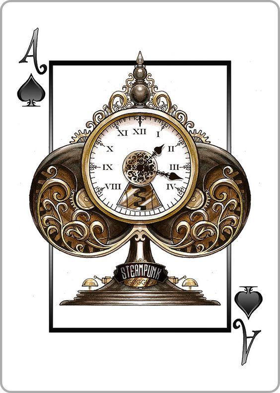 Steampunk Goggles Playing Cards Deck