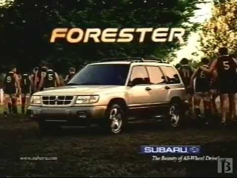 1999 Subaru Forester Commercial - Paul Hogan