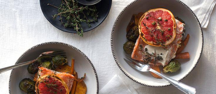 Truta Salmonada com citrinos e alcaparras | Jumbo Vida Saudável