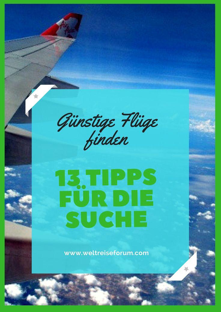 Du möchtest um die Welt reisen, doch dein Budget lässt das nicht zu? Keine Sorge: Fernreisen müssen nicht teuer sein. Mit diesen 13 praktischen Tipps wirst du im Handumdrehen jede Menge günstige Flüge finden und die wichtigsten Preisfallen umschiffen. Ein kleiner Guide für die Flugsuche.