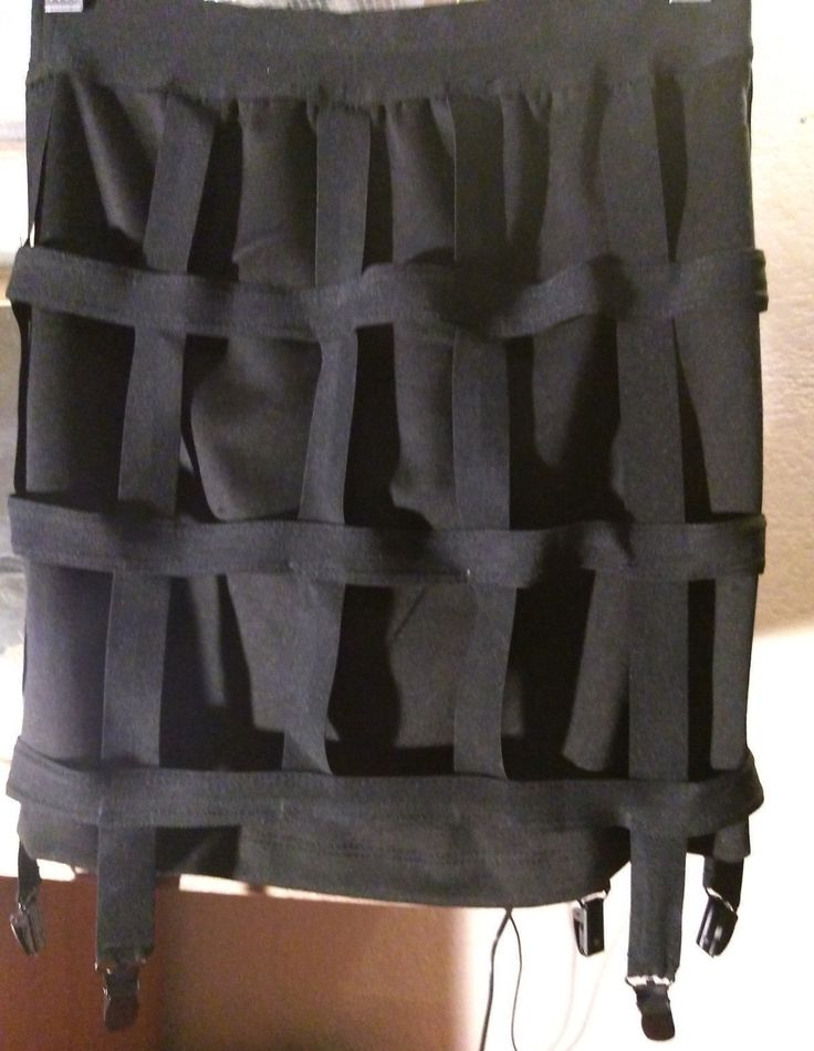 LIP SERVICE Too Strapped For Love cage skirt #97-749