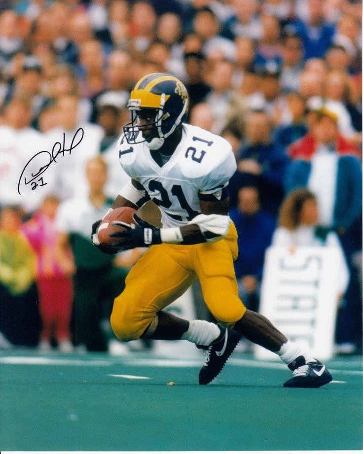 Desmond Howard #0 8x10 Signed Michigan Wolverines