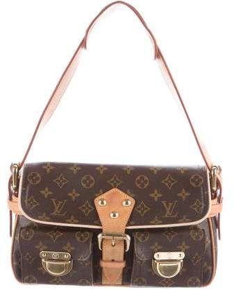 Louis Vuitton Monogram Hudson PM  Authentic Louis Vuitton Bags
