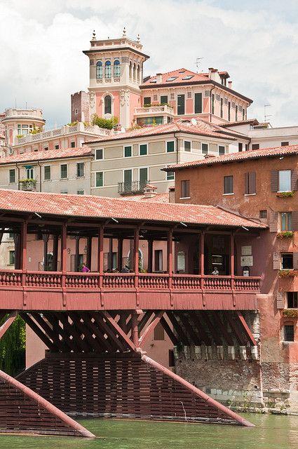 Bassano del Grappa, Veneto, Italië