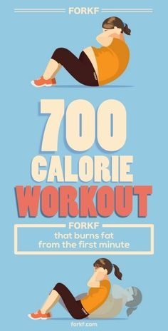 700-Calorie Workout That Burns Fat From The First Minute