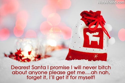 Get the funny Christmas messages right here. You can share/send them to your loved ones via Text/SMS, Email, Facebook, Whatsapp, IM or other social networking sites.