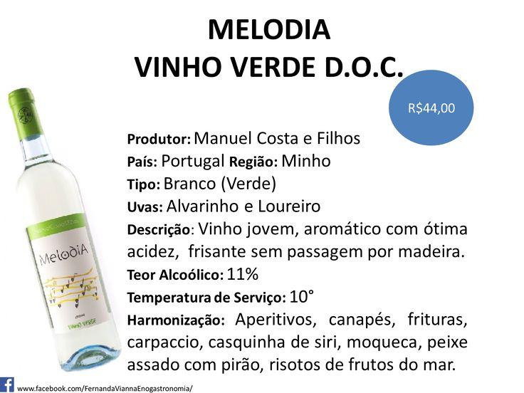 A DOC do Vinho Verde com seu clima fresco cria vinhos frescos, aromáticos com um leve frisante. Garanta aqui ou pelo whatsup:(11)99910-5972