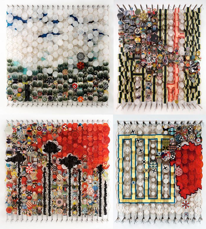 Jacob Hashimoto: Art Rolls, Art Art, Art Crafts, Art Photography, Art Prints, Art Installations, Art Gene, Art D, Art Ful Life
