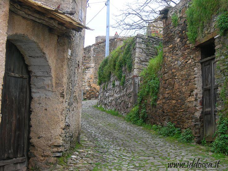 Centro storico a Meana Sardo - Sardinia - Italy