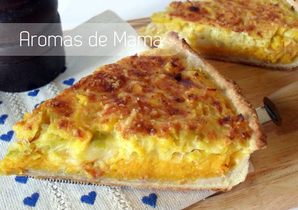 Tarta de choclo y calabaza ~ Aromas de Mamá | Recetas de Cocina | aromasdemama.com
