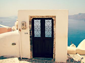 A door to nowhere!