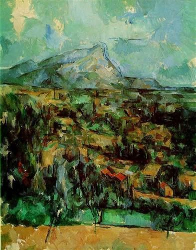 Mont Sainte-Victoire by Paul Cezanne, c1902