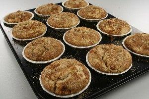 Muffins med æble og kanel 4