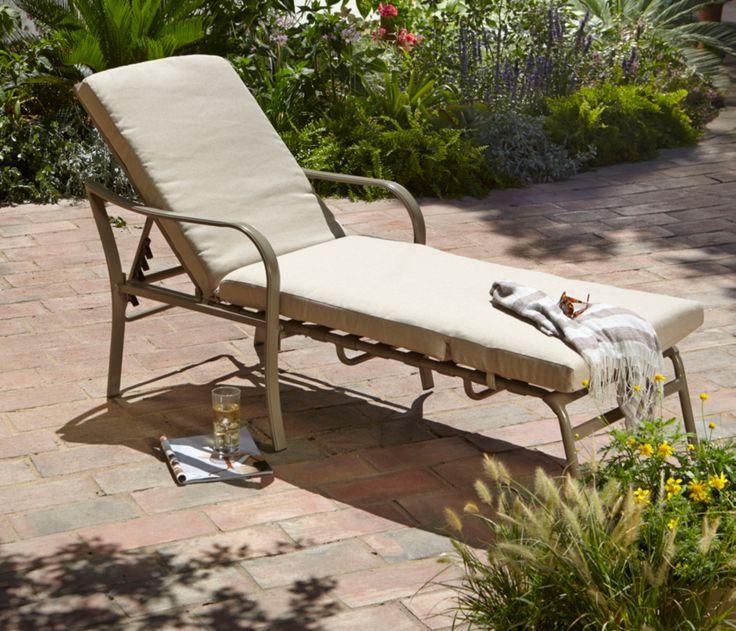 Asda Haversham sun lounger