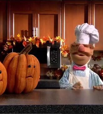 The Swedish Chef teaches us how to carve a pumpkin... #swedishchef #pumpkin #muppets HILARIOUS!