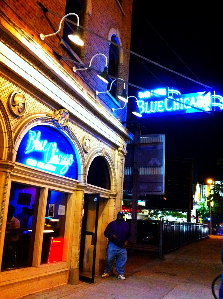 Blues bar in Chicago. Passed this last time I was there.