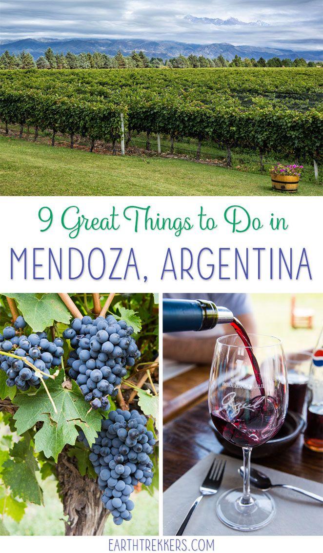 9 Great Things To Do In Mendoza Argentina Argentina Mendoza