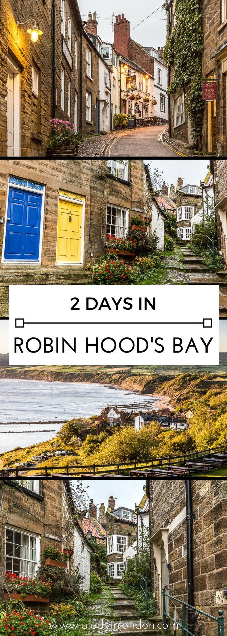 How to spend 2 incredible days in Robin Hood's Bay, Yorkshire, England  #robinhoodsbay #yorkshire #england #uk