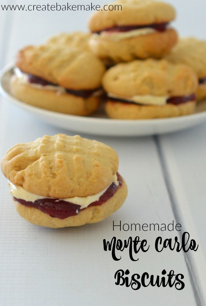 Homemade Monte Carlo Biscuits