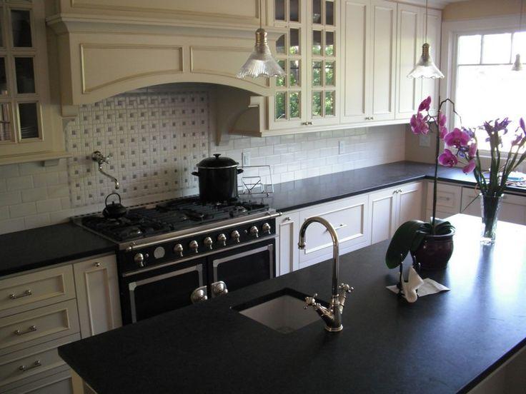 Wonderful 29 Honed Black Granite Countertop Ideas For ...