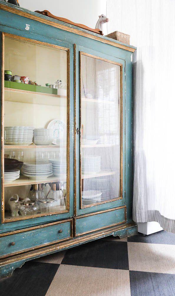 Armoire salon vaisselier