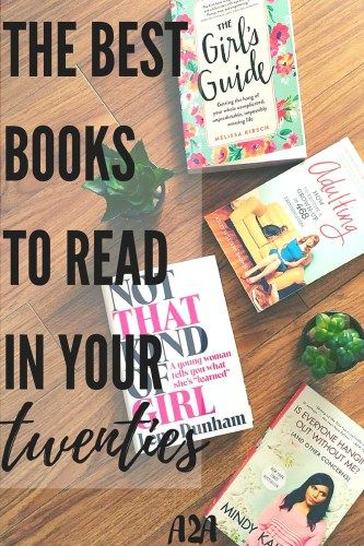 A list of must read books for twenty-something's. The list has inspirational reads, humorous reads, and reads filled with life advice. Something for every twenty-something.