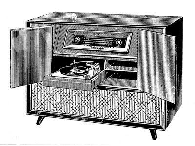 25 melhores ideias sobre aparelho de som no pinterest for Mobiliario anos 50