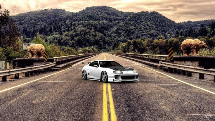 Checkout my tuning #Toyota #Supra 1998 at 3DTuning #3dtuning #tuning