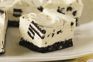 I make this all the time for work, they love it.  It is super easy too!!  PHILADELPHIA-OREO No-Bake Cheesecake recipe